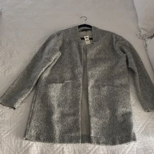 Express sweater coat